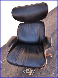 Mid Century George Mulhauser Plycraft Lounge Chair With Ottoman Vintage Eames Era