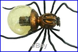Outstanding Mid Century Vintage Wall Lamp Spider Sconce Italy 1960s Brutalist