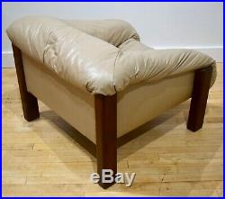 Vintage 1970s Lounge Chair Percival Lafer Style MCM Mid-Century Modern