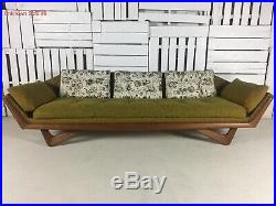 Vintage Adrian Pearsall Crafts Associates Sofa Authentic, Original withtags
