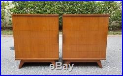 Vintage Mid Century KENT Bar And Stereo Record Cabinet Set
