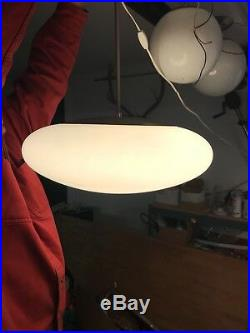 Vintage mid century Atomic ceiling pendant light by MOE, Great condition